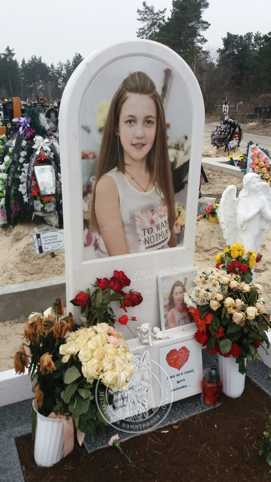 Детский мраморный памятник Киев и киевская область