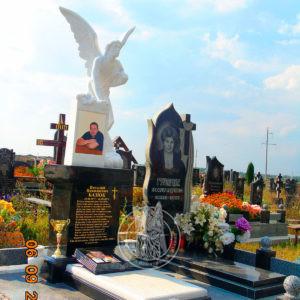 Памятники из гранита, гранитные из мрамора мраморные скульптуры надгробные, ангела из камня на могилу Винница доставка купить, заказать, продажа, изготовление — от Компании Олимп