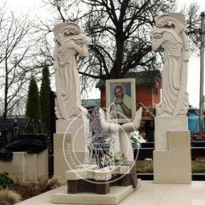 Эксклюзивное надгробие со скульптурами №234