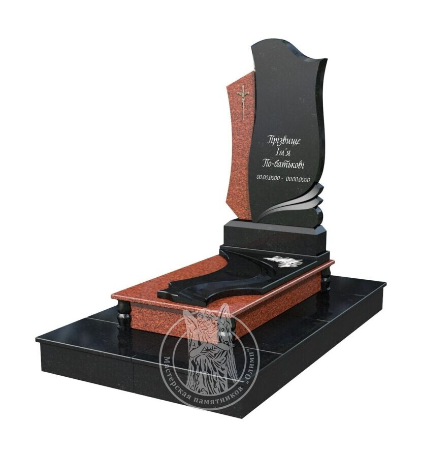 Памятник в макете