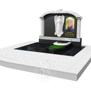 Макет памятника в 3D № 374