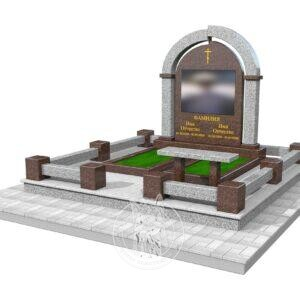 Памятник в 3Д макете №387