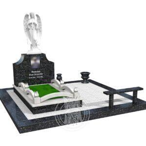 Макет памятника в 3д №382