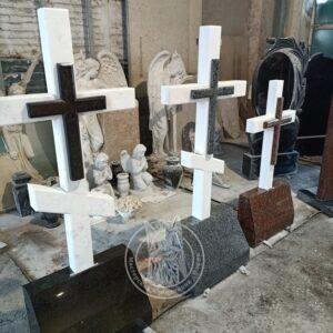 Мраморный православный Крест МК№5