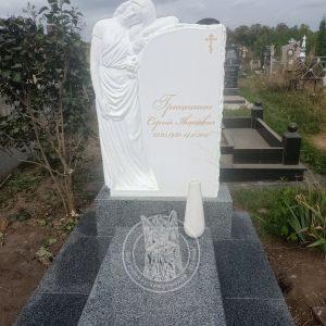 Плакальщица из мрамора №164 установлена в Винницкой обл.Ямпольском р-не, с. Ветровка