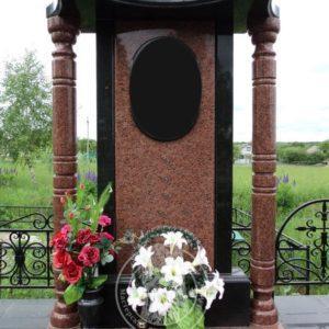 Памятник с колоннами № 140