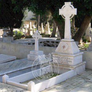 Мраморный памятник с крестом № 84 Цена: Уточняйте!