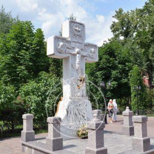 Крест из мрамора с распятием  № 77 Цена: Уточняйте!