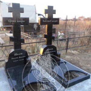 Кресты из гранита № 230 Установлены  на Кладбище в г. Борисполь Цена: Уточняйте!