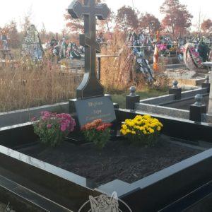 Крест из гранита № 229  Установлен на Петропавловской Борщаговке Цена: Уточняйте!