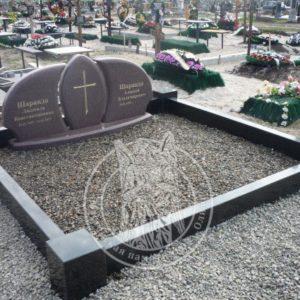 Двойное надгробие из Токовского гранита № 21