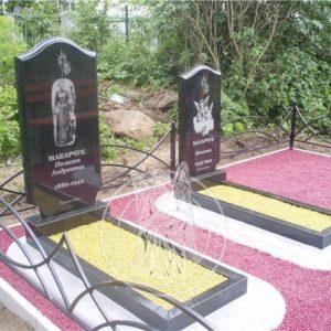 Цветной щебень на могилу №5