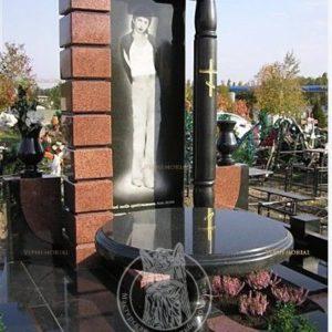 Памятник с колонной №10 Цену:Уточняйте!