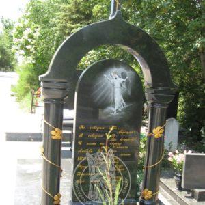 Надгробие с колоннами №5 Цену:Уточняйте!