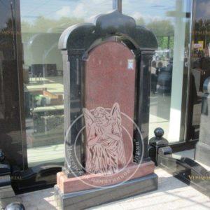 Памятник  с колоннами №1 Цену:Уточняйте!