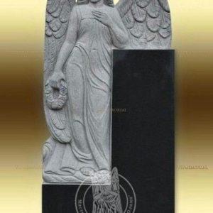 Памятник из гранита   с ангелом № 21 Цена: Уточняйте!