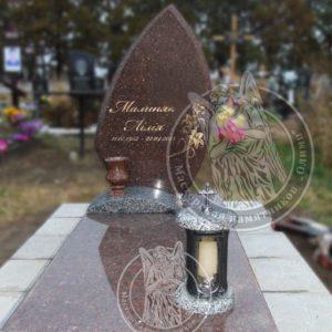 Изготовили памятник установлен в г. Бровары №6