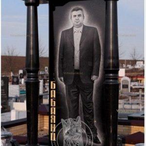 Памятник  с колоннами   Армянину № 16