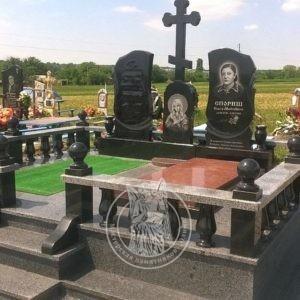 Двойное надгробие № 196