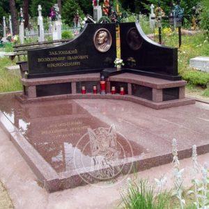 Гранитное надгробие для   двоих № 195