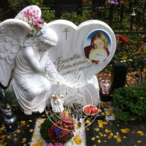 Ангелочек из мрамора№ 45