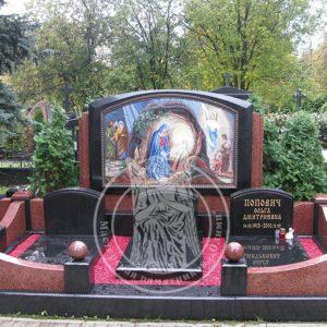 Двойное надгробие из гранита №198