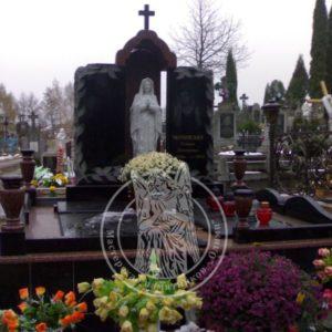 Двойное надгробие  из гранита № 200
