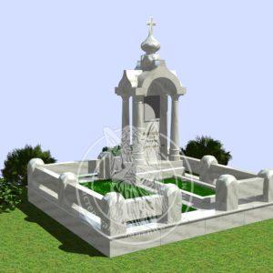 Мемориальный комплекс из мрамора № 345