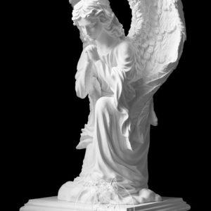Скорбящий ангел на колене № 14