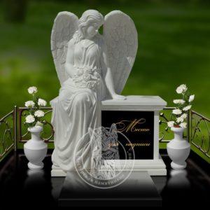 Скорбящий ангел на тумбе № 26