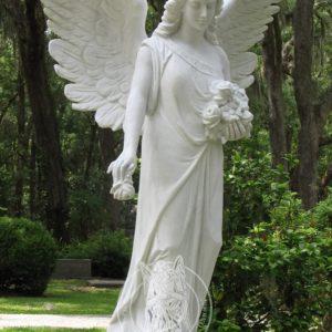 Ангел из полимера с крыльями № 28