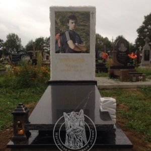 Памятник из мрамора и гранита  г. Борислав  № 71