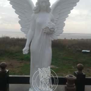 Ангел из полимера  на могилу в Николаеве № 78