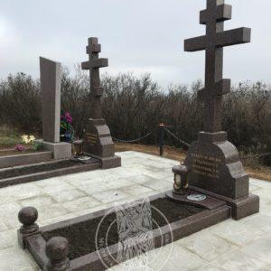 Гранитные кресты  в Запорожской обл. Мелитопольского района № 80