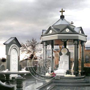 Элитный памятник из гранита № 217