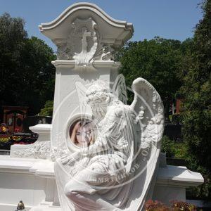 Мраморный комплекс с ангелом № 180