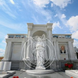Эксклюзивный памятник с цветным фото № 220