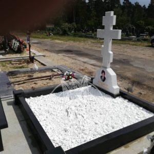 Мраморный   православный крест № 94