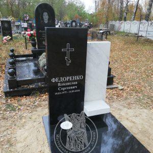 Памятник в Итальянском стиле из гранита и мрамора село Сыраи Козелецкий район  №104