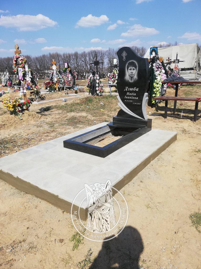 Одинарное надгробие