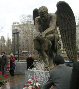 Ангел бронзовый №3