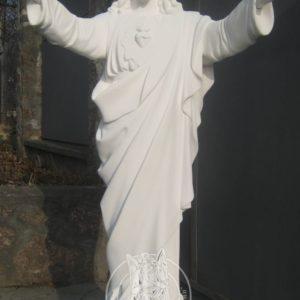 Религиозная скульптура на могилу  из бетона № 3