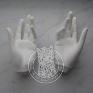 Скульптура на могилу из бетона № 5