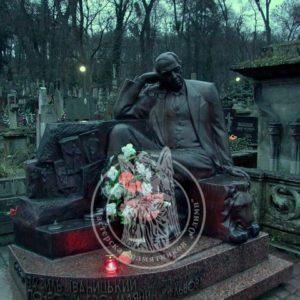 Бронзовая скульптура  почетному гражданину № 32