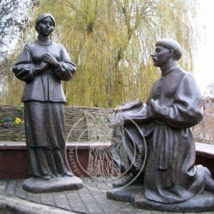 Бронзовые скульптуры № 30