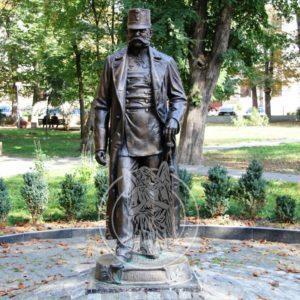 Бронзовая скульптура № 28