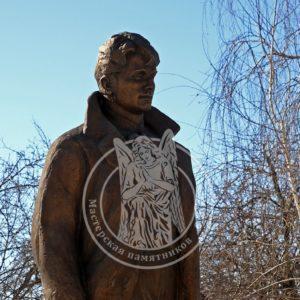 Памятник из бронзы Есенину № 27