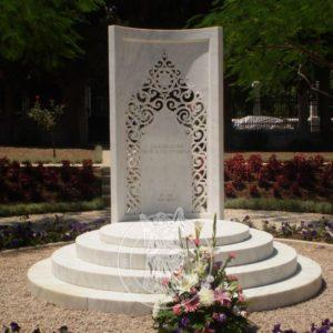Памятник из мрамора Мусульманский № 23