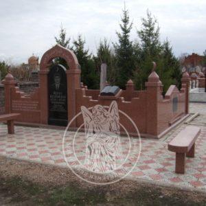Мусульманский комплекс из гранита № 9