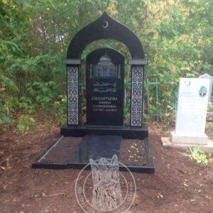 Мусульманский памятник с  колоннами № 7